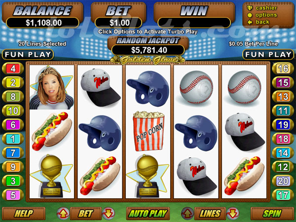 CasinoMax 20 line video slots