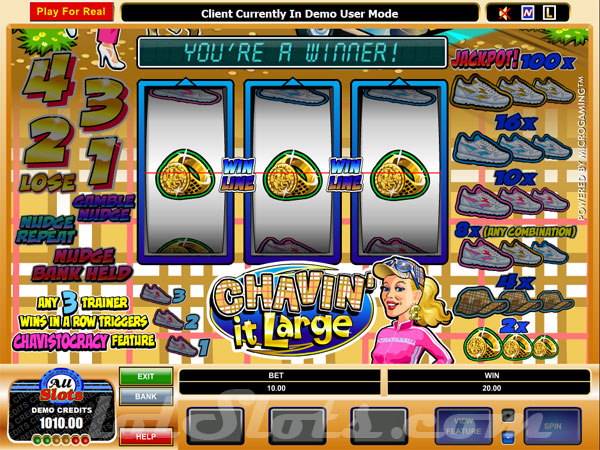 chavin it large slots game