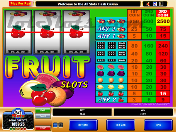 Fruit Cocktail Slot Machine Review & Free Instant Play Game