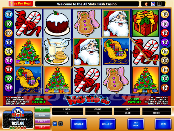 Santas Spins Slots - Play for Free with No Downloads