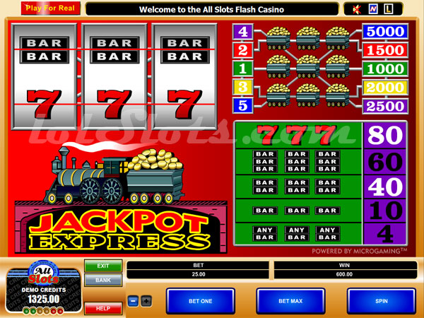 Jackpot Express™ Slot Machine Game to Play Free in Microgamings Online Casinos