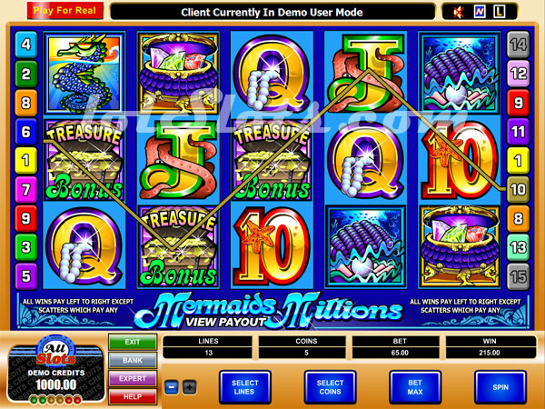 free slot machine mermaid