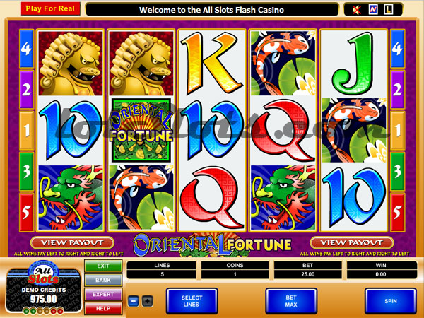 oriental fortune slots game