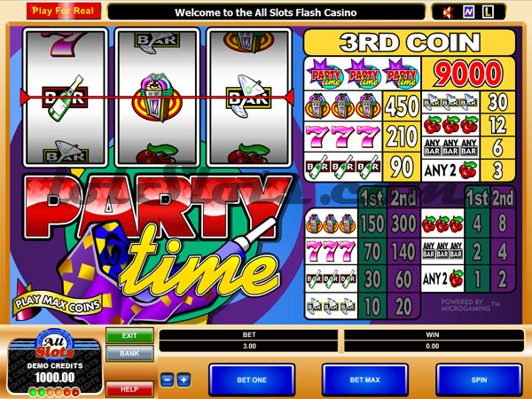 Party Time Slot Machine - Play Free Casino Slots Online