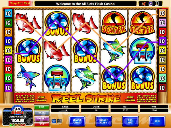 reel strike slots game