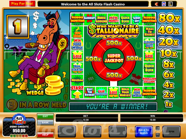 Stallionaire™ Slot Machine Game to Play Free in Microgamings Online Casinos