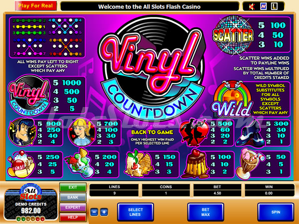 Spiele Vinyl Countdown - Video Slots Online